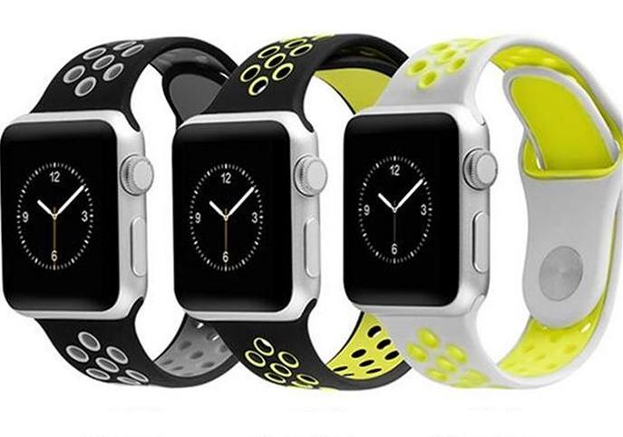 Silicone Sports Apple Watch Band Replacement