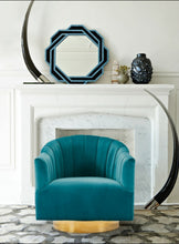 Load image into Gallery viewer, Fabric Upholstered Accent Chair