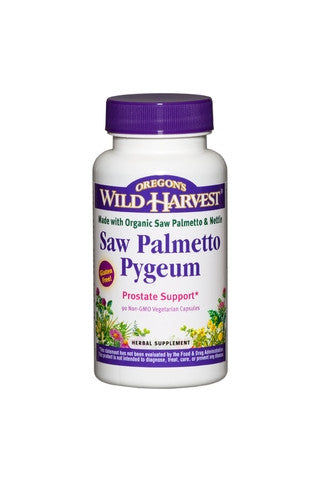 Oregon's Wild Harvest Saw Palmetto Pygeum