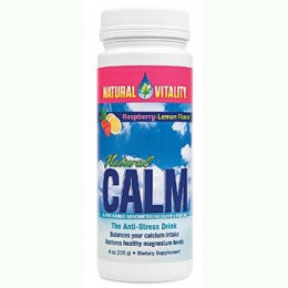 Natural Calm by Natural Vitality (Raspberry-Lemon Flavor)