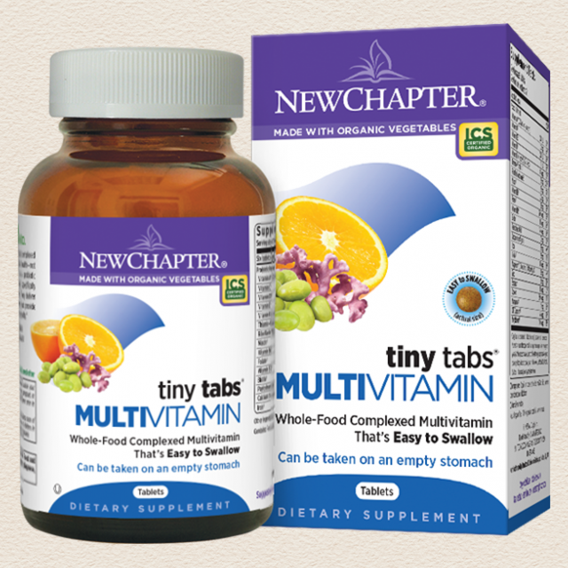 New Chapter Tiny Tabs™ Multivitamin