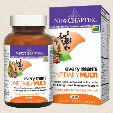 New Chapter Every Man™'s One Daily Multi