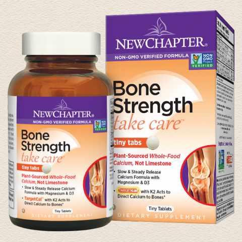 New Chapter Bone Strength Take Care™ Tiny Tabs