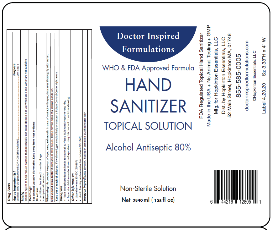Hand Sanitizer - Liquid (1 gallon jug)