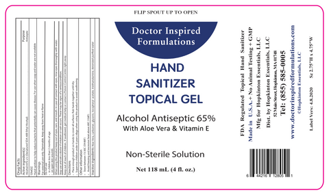 Hand Sanitizer - Gel (4oz. bottle)