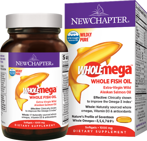 Wholemega™ Whole Fish Oil by New Chapter