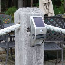 Dock Edge Post & Surface Mount Light with Motion Sensor