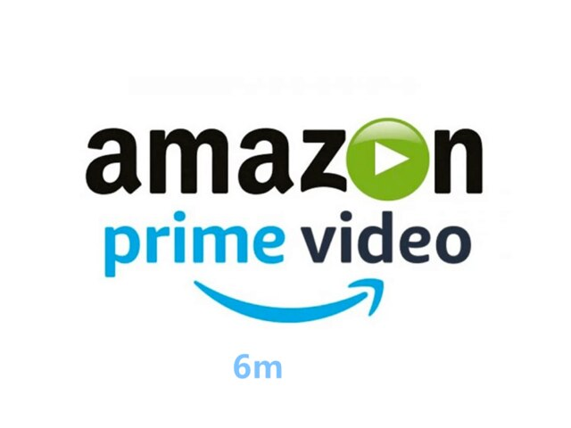 Amazon prime Video-watch on TV, 6 months, 1 year,