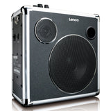 Lenco PA-46 Portable Bluetooth speaker - 30W RMS - USB - SD - battery