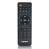 Lenco DIR-250BK - Internet radio with DAB+, FM, MP3-player and Bluetooth - Black