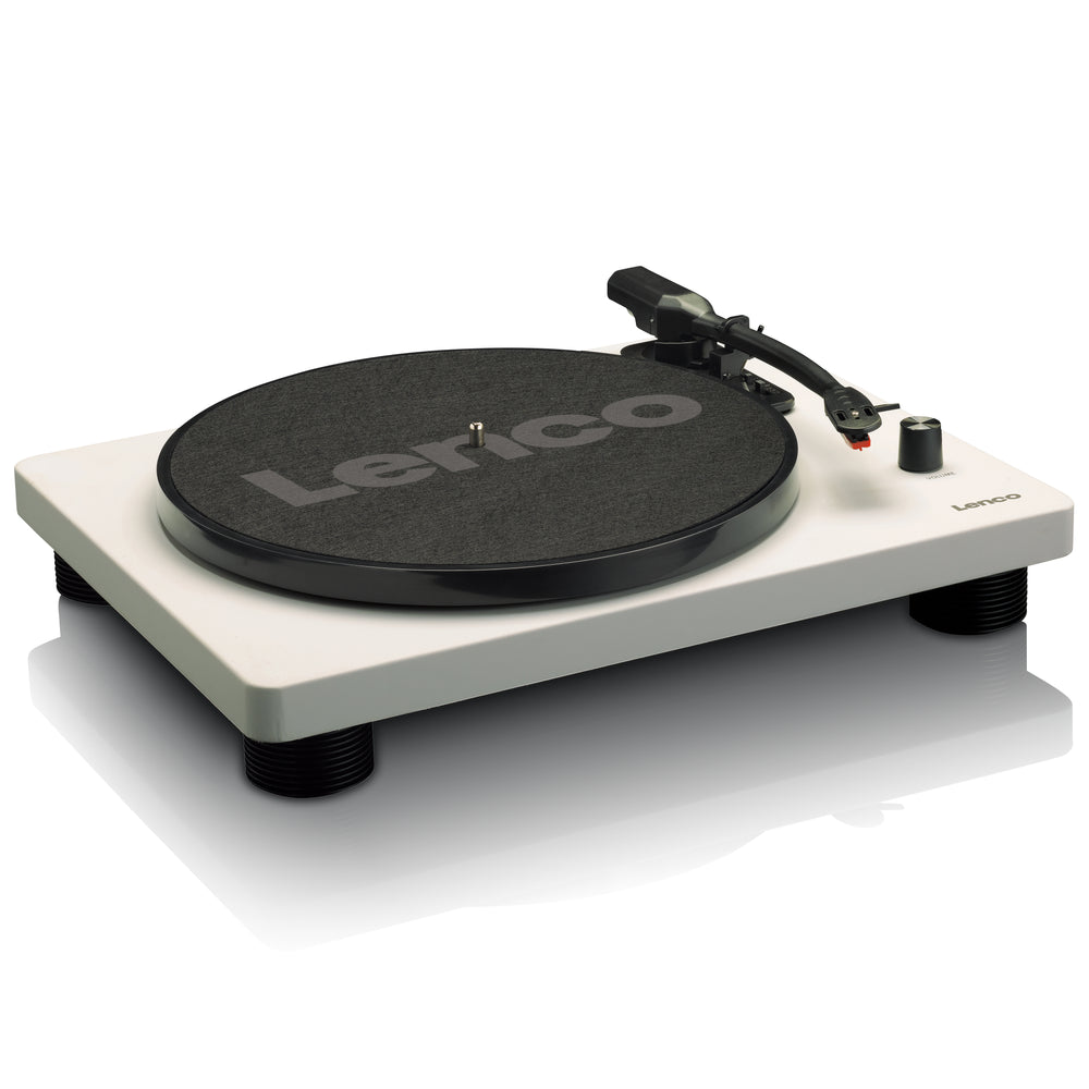 Lenco LS-50GY - Turntable with built-in speakers USB Encoding - Grey