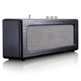 Lenco BT-300BK - Retro Bluetooth Speaker - Black