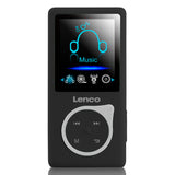 Lenco Xemio-668 Black - MP3/MP4 player Incl. 8GB micro SD card - Black