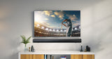 Lenco SB-080 BK - 90 cm Sound bar, 80w, Bluetooth, USB, HDMI with built-in subwoofer - Black