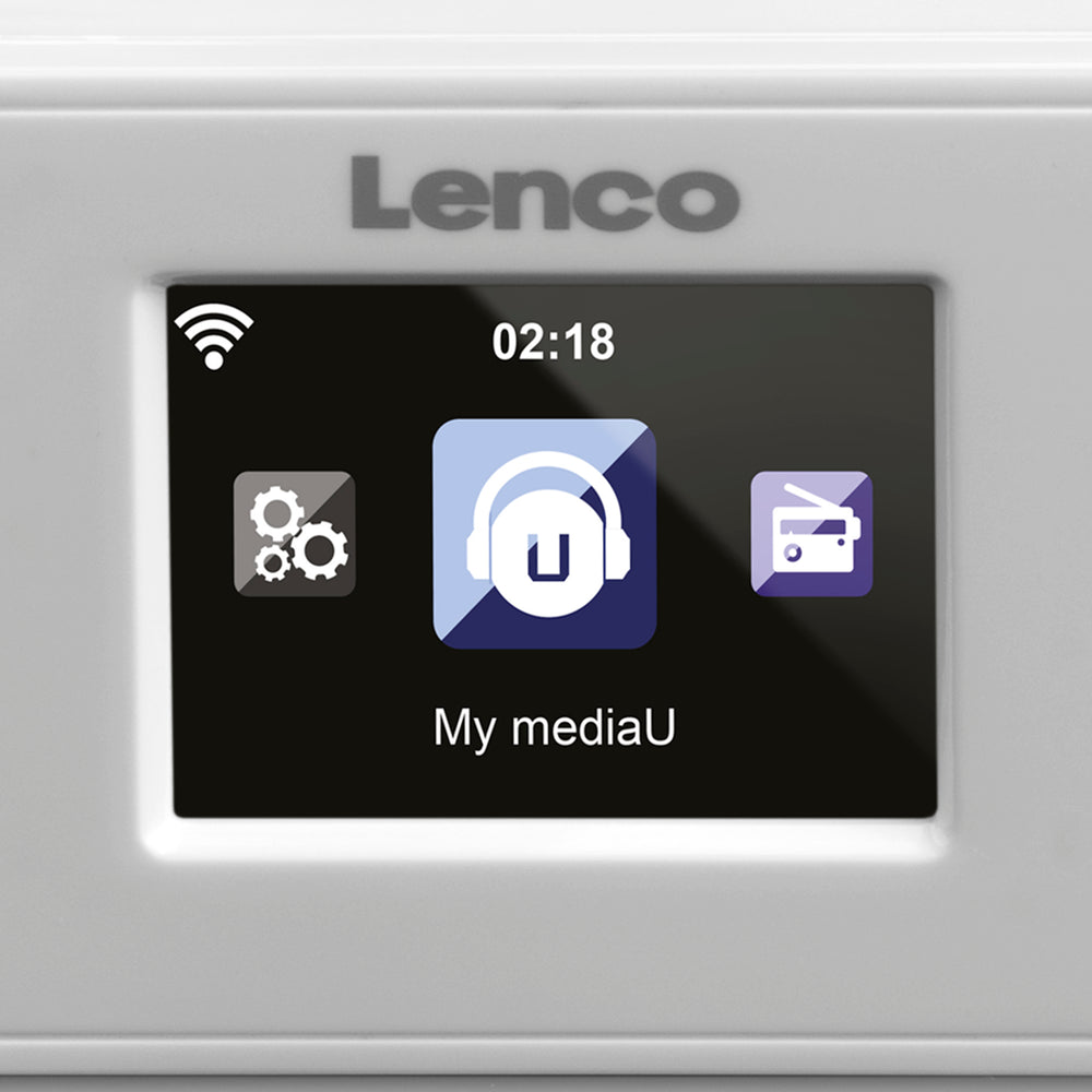 Lenco KCR-2014 - Kitchen internet radio with FM - White