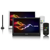 "Lenco TFT-1038BK - 10"" LED TV with DVB-T2, AUX IN - Black"