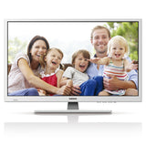 Lenco DVL-2862 - HD LED TV with 28 inch and DVB/T/T2/S2/C with integrated DVD player - White