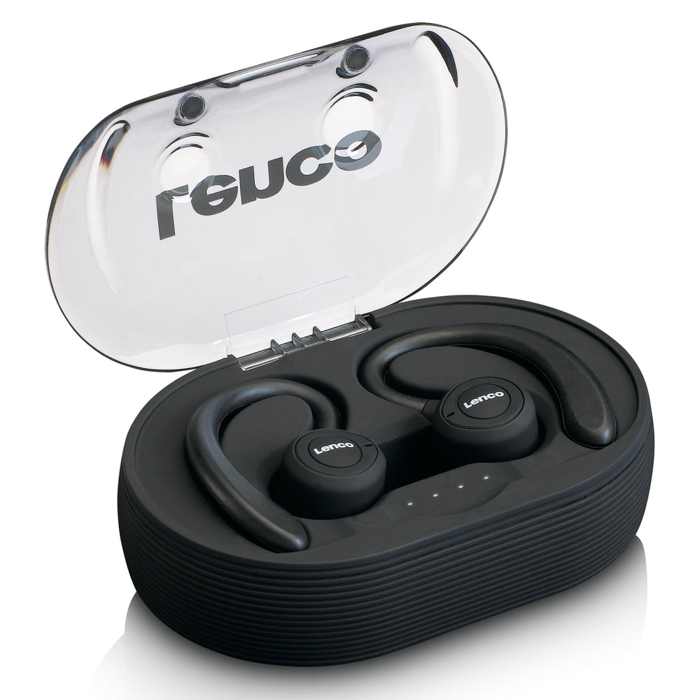 Lenco EPB-460BK - Sport IPX5 TWS Bluetooth Earphone - Black