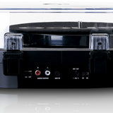 Lenco LS-40BK - Turntable with built-in speakers - Black