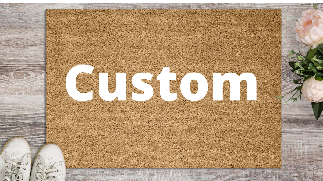 Welcome Mat - Personalized Mat - Custom Mat