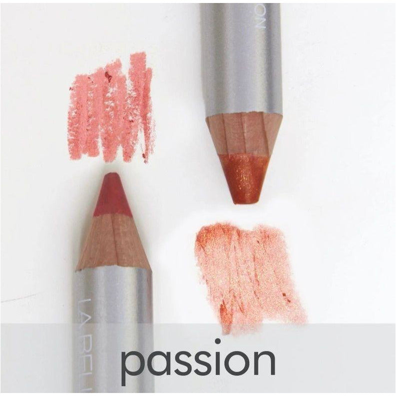 LA BELLA DONNA DUO-LIP CRAYON WITH DUAL WHITE SHARPENER