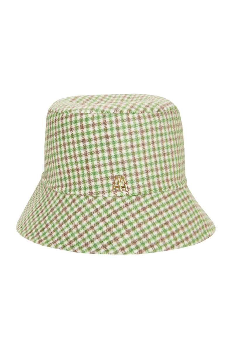 The Hat Green Check