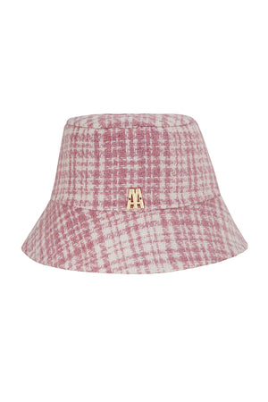 The Hat Pink Check