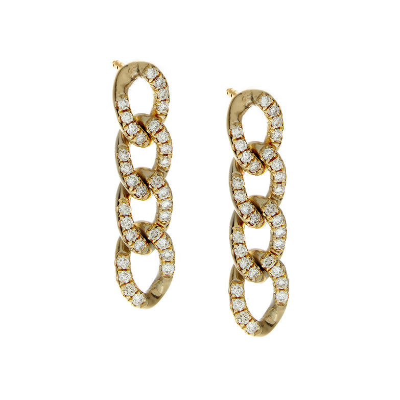 Cuban Link Earrings