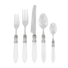 Aladdin Flatware - White