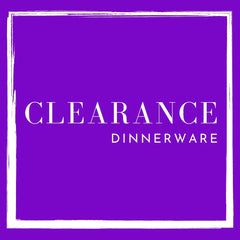 Clearance - Dinnerware