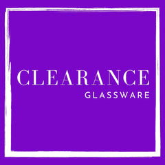 Clearance - Glassware