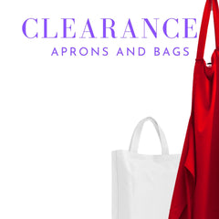 Clearance Aprons and Bags