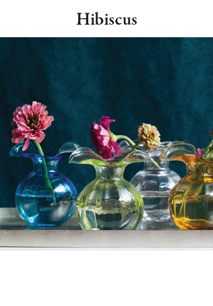 Hibiscus Glassware Collection