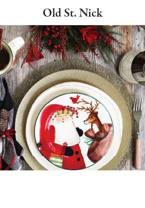 Old St. Nick Dinnerware Collection