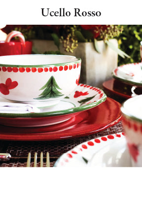 Ucella Rossa Dinnerware Collection