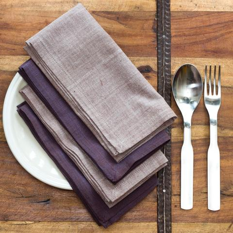 Dusk Napkins - Color Scheme Monday - Pezzo Bello Interiors