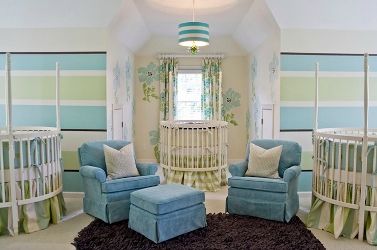 Triplet Nursery Design