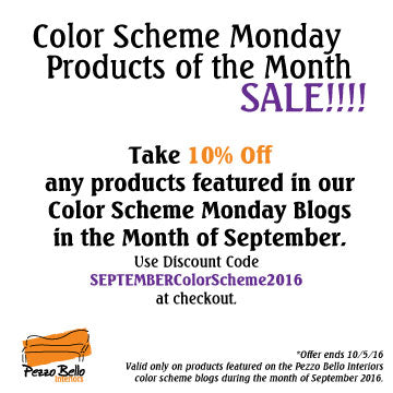 Color Scheme Monday Sale - September 2016