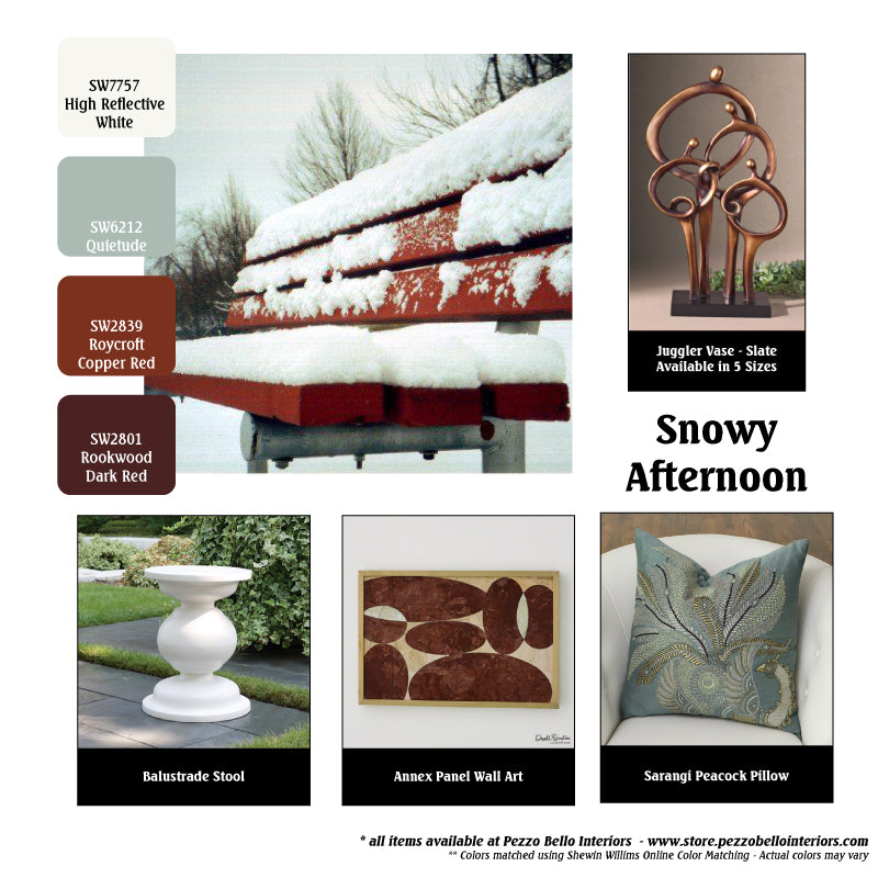 Color Scheme Monday - Snowy Afternoon