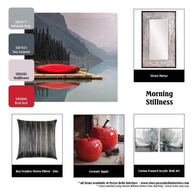 Color Scheme Monday - Morning Stillness - Pezzo Bello Interiors