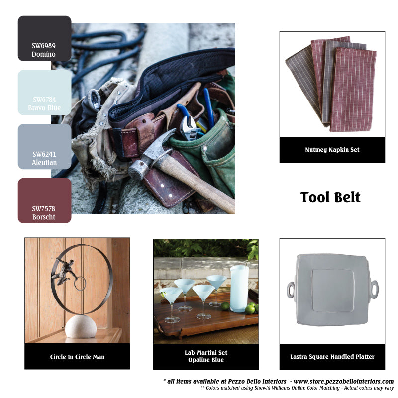 Color Scheme Monday - Tool Belt - Pezzo Bello Interiors