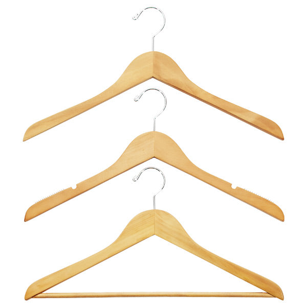 Invest in some good hangers. Hangers of all the same size and shape will not only save you space, but they will keep your clothes looking great for longer as well.
