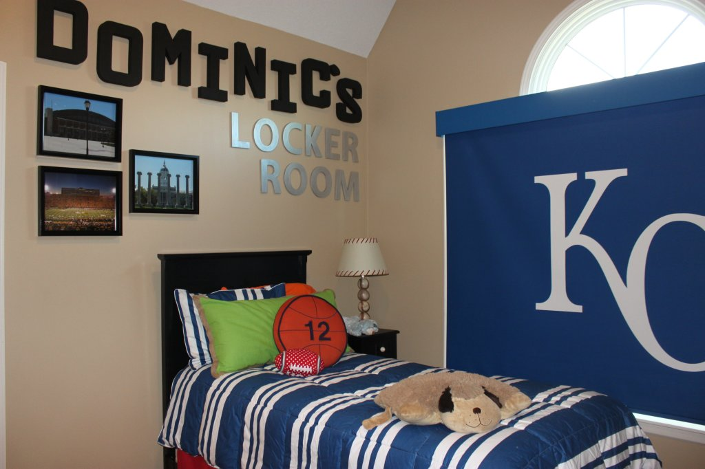 Kansas City Theme Bedroom