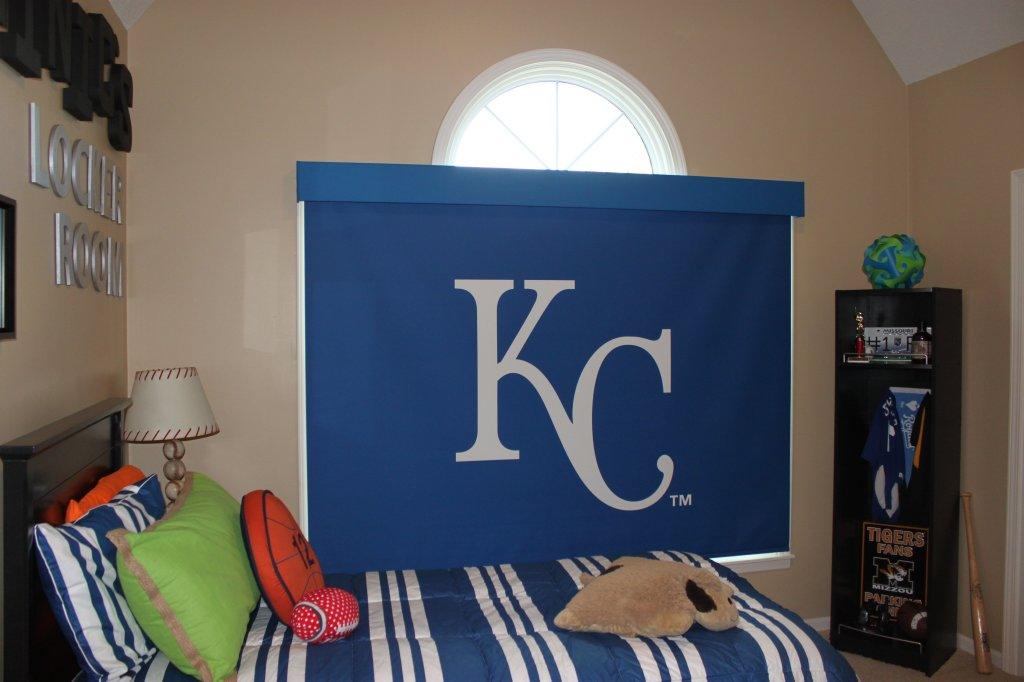 KC Royals Roller Shade