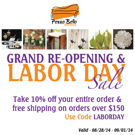 Pezzo Bello Labor Day Sale