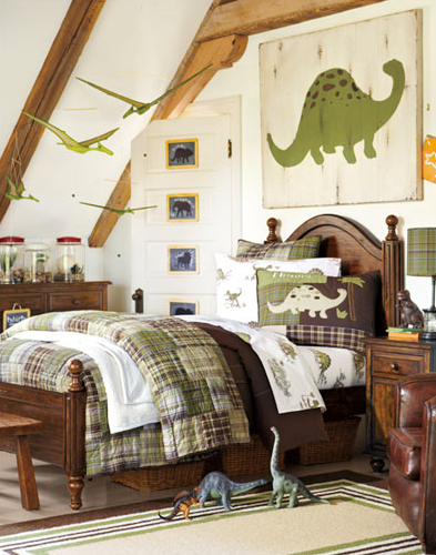 Pottery Barn Dinosaur Bedroom