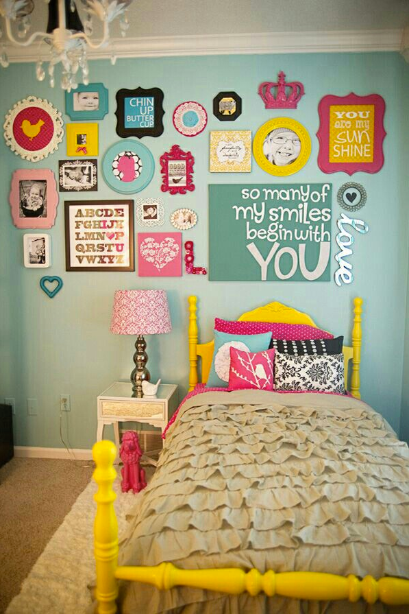 Bright Playful Bedroom