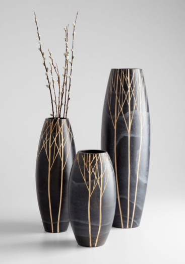 Beautiful Wood Vases - 3 Sizes Available - Pezzo Bello Interiors