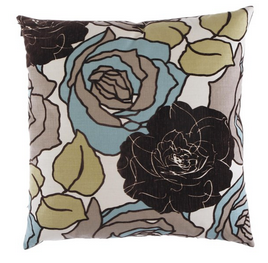 Secret Garden Pillow - Mink - Pezzo Bello Interiors