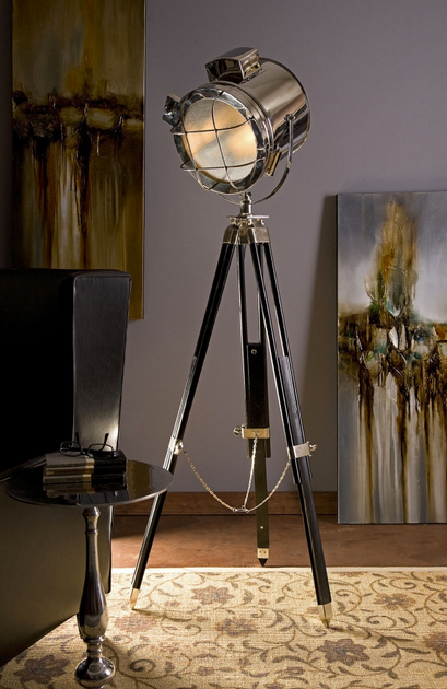 Kaden Spot Floor Lamp - Color Scheme Monday - Vintage View Master - Pezzo Bello Interiors